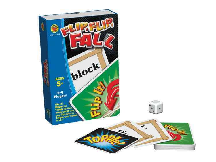 Flip, Flip, Fall Card Game, Grades K - 2 By Carson-Dellosa Publishing Company, Inc. (COR)